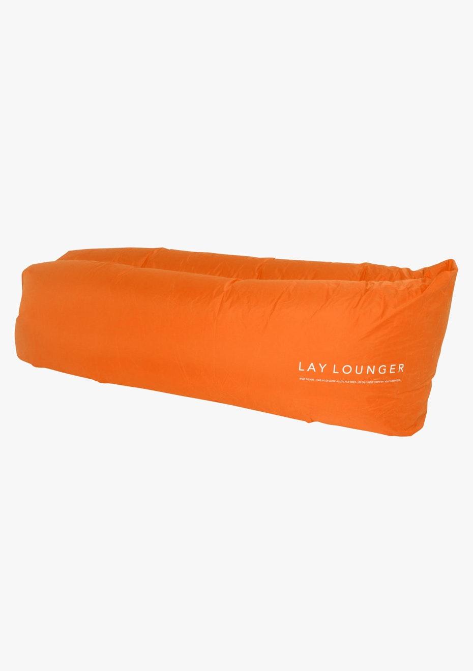 Lay Lounger Lounge Bag - Orange