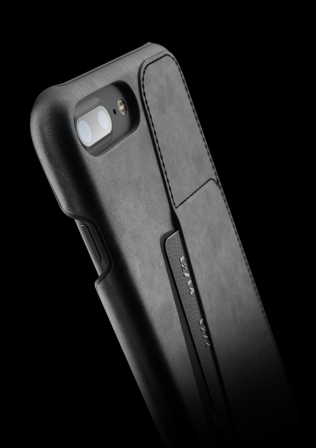 lowest price 5dda2 2390e Mujjo Leather Wallet Case for iPhone 7 Plus - Black
