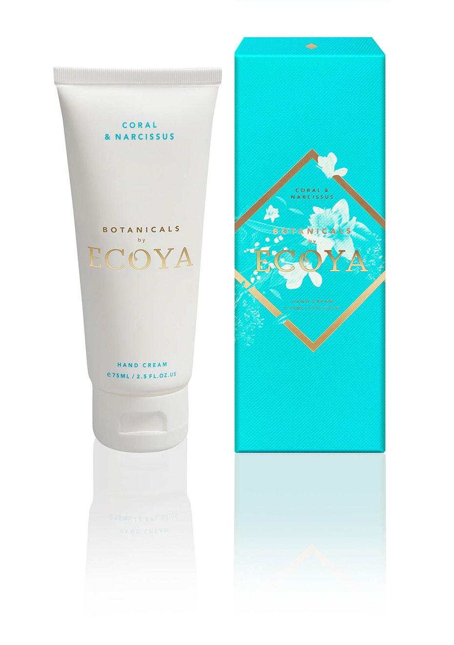 Ecoya - Hand Cream - Coral & Narcissus