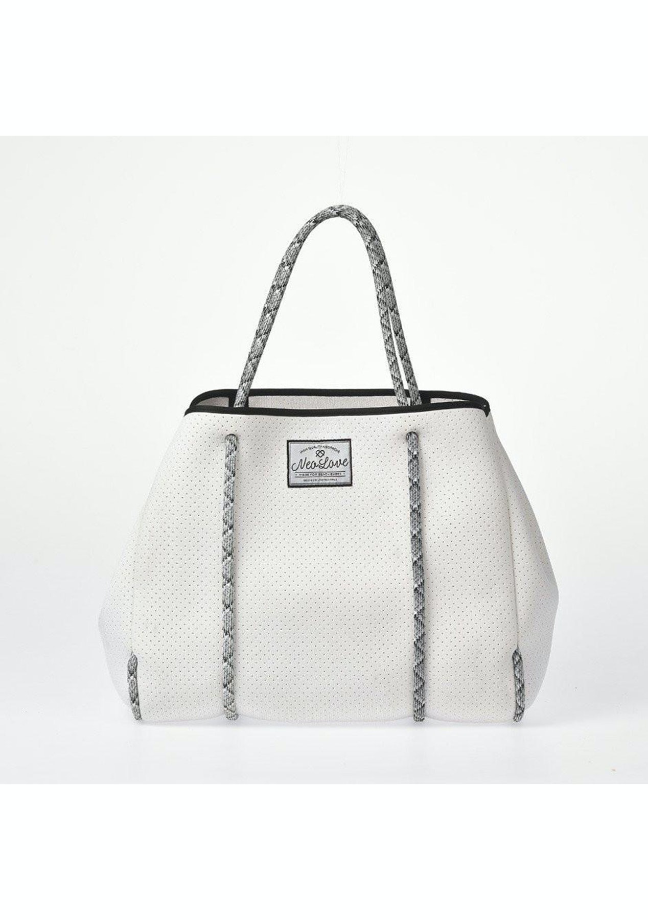 Neo Love Neoprene Tote Beach Bag White Mens Spring Clearout Onceit