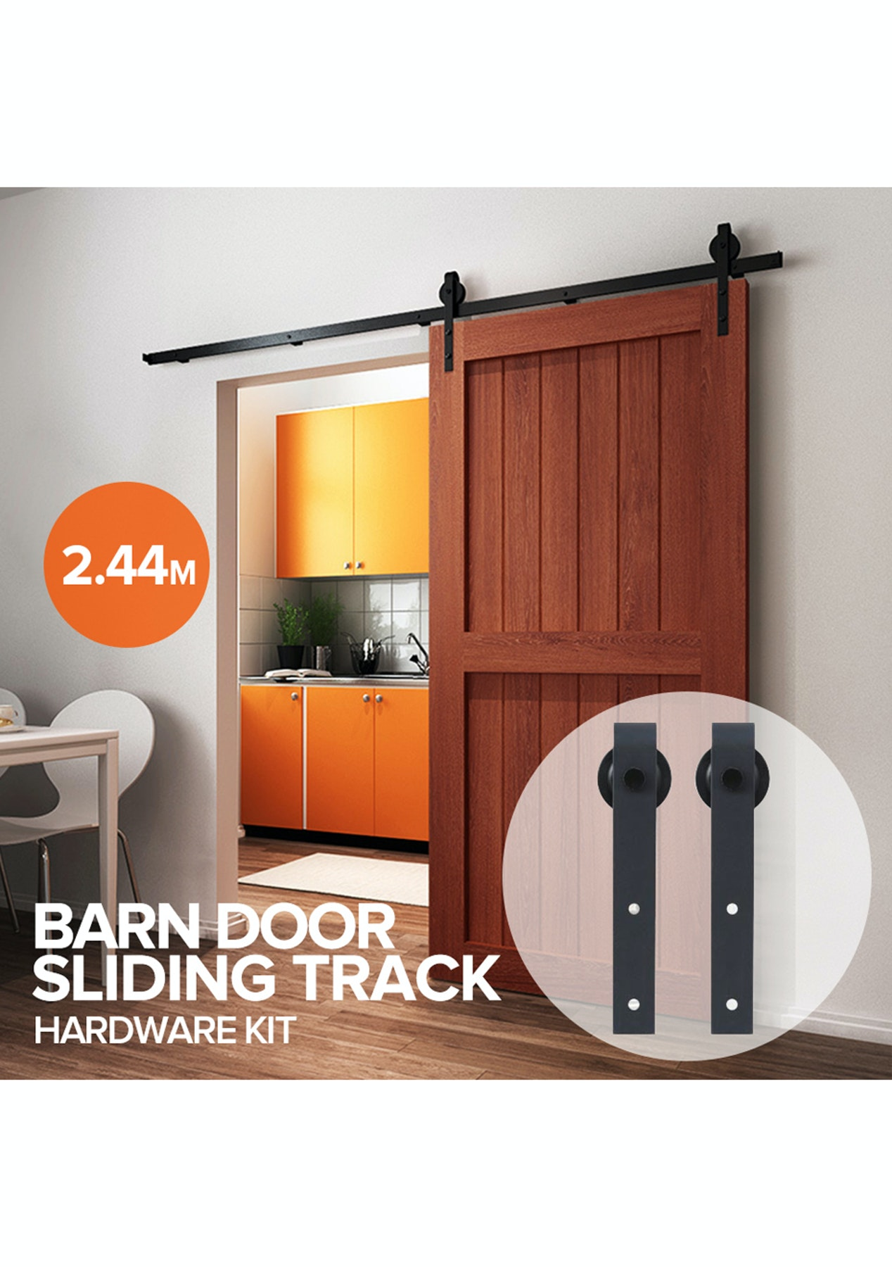 244m Sliding Door Track Hardware Modern Affordable Furniture Onceit