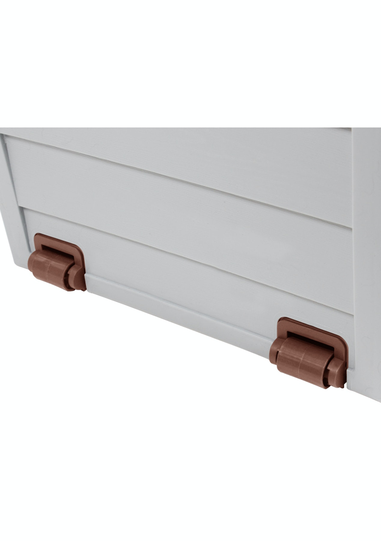 Outdoor Storage Box 290l Brown Lid Outdoor Furniture Lights Onceit
