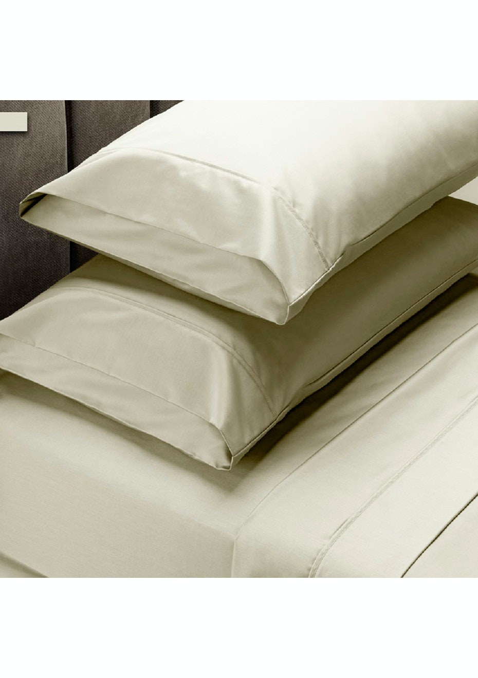 Park Avenue 1000 Thread count 100% Egyptian Cotton Sheet sets Mega Queen - Birch