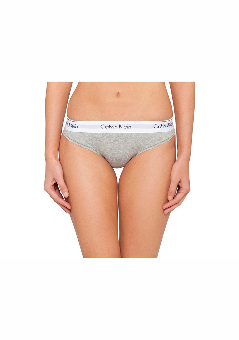 Calvin Klein - Modern Cotton Bikini - Grey  Heather