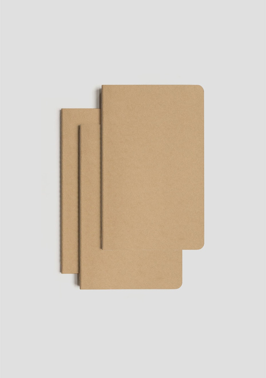 Cahier Notebook - Set of 3 - Ruled
