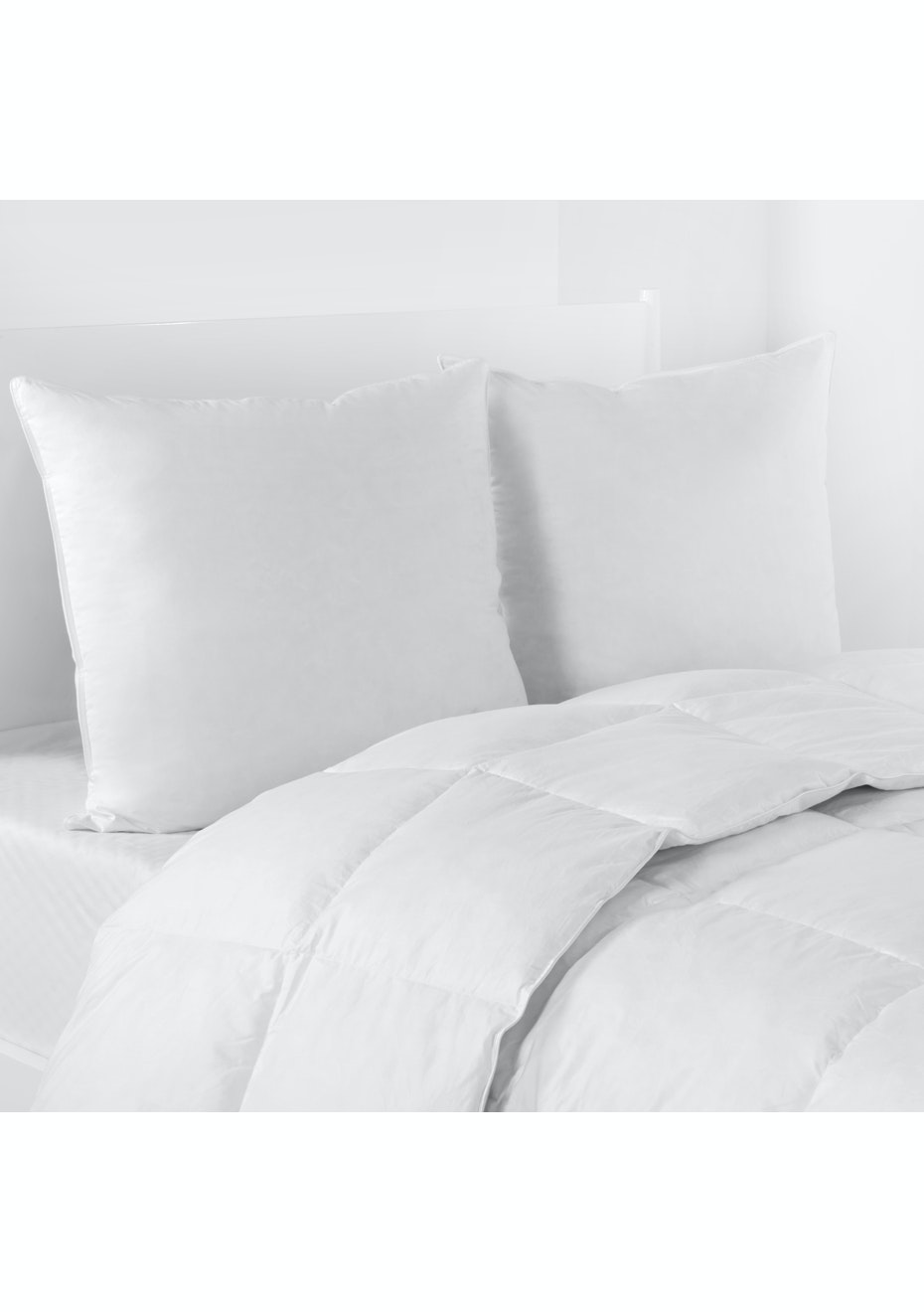 Grand Atelier Twin Pack Euro Goose Feather and Down Pillow