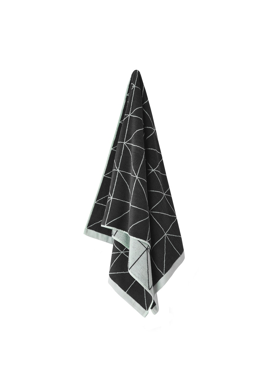 Aura Kami Bath Sheet 900 X 1650Mm Charcoal
