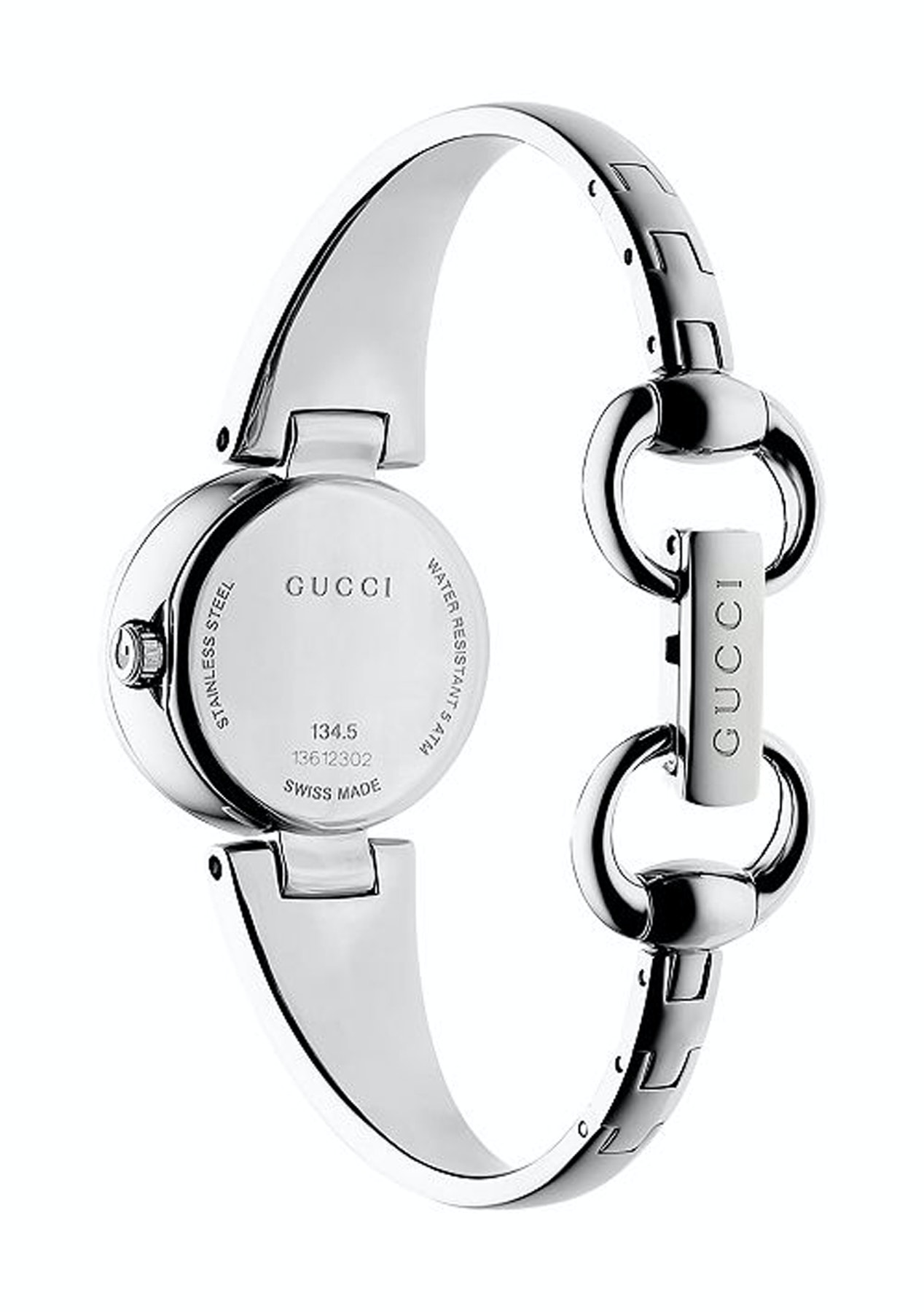 154fd9344ce Gucci - YA134503   Ssima Analog Brown Dial Stainless Steel Quartz   Women  Watch - 48hour Gucci Watches - Onceit