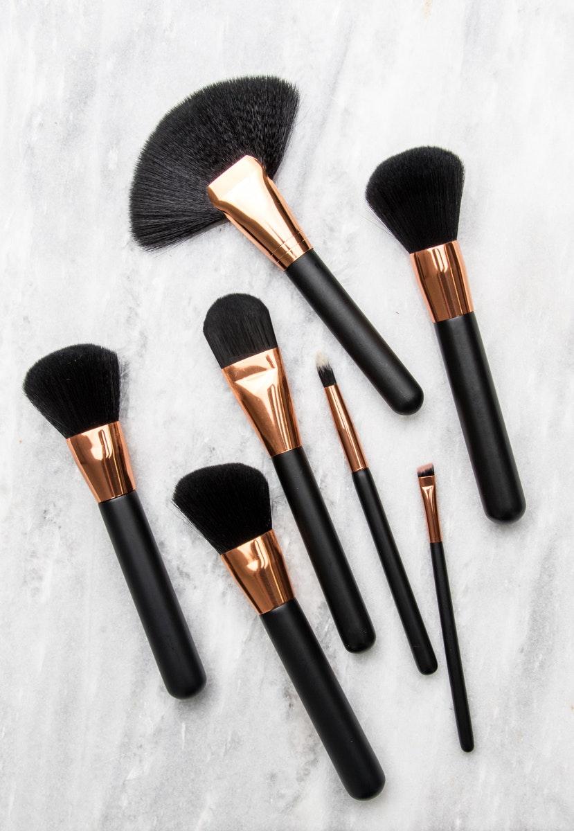 black unicorn makeup brushes. rose gold - matte black 7pc brush set with case $19.95 unicorn makeup brushes \u0026 more onceit a