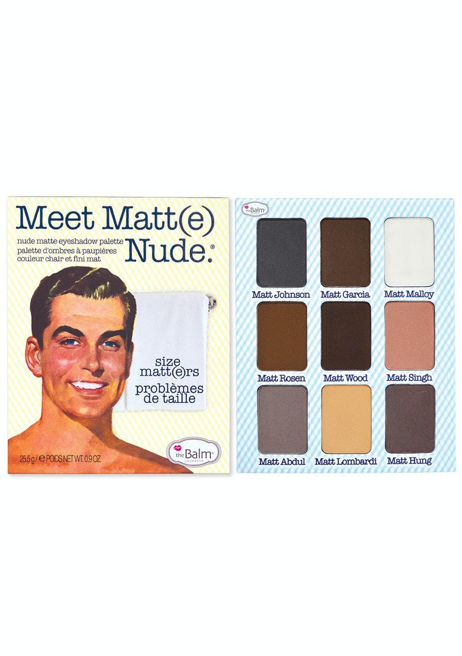 theBalm Meet Matt-e Nude Eyeshadow Palette