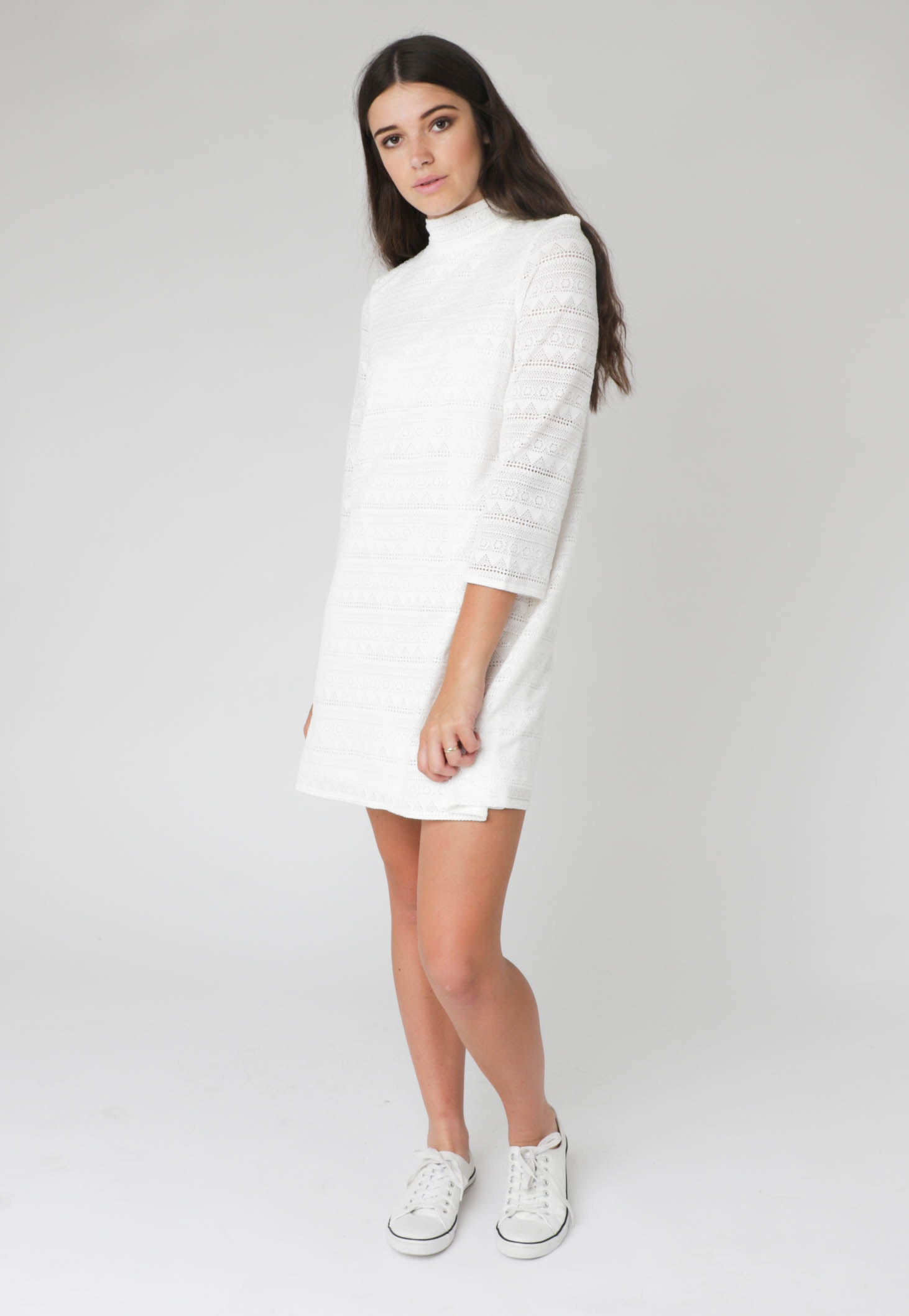 All About Eve - Love and Light Dress - White