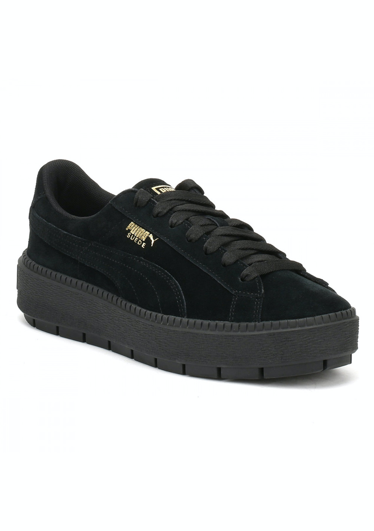 d0bb2f90994 Puma Womens - Suede Platform Trace Black - Puma Womens   Kids Up to 60% Off  - Onceit