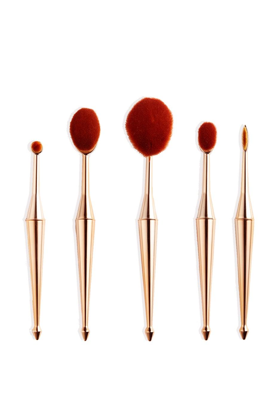 Terre Mere - Oval Brush Set - 5-pc Set