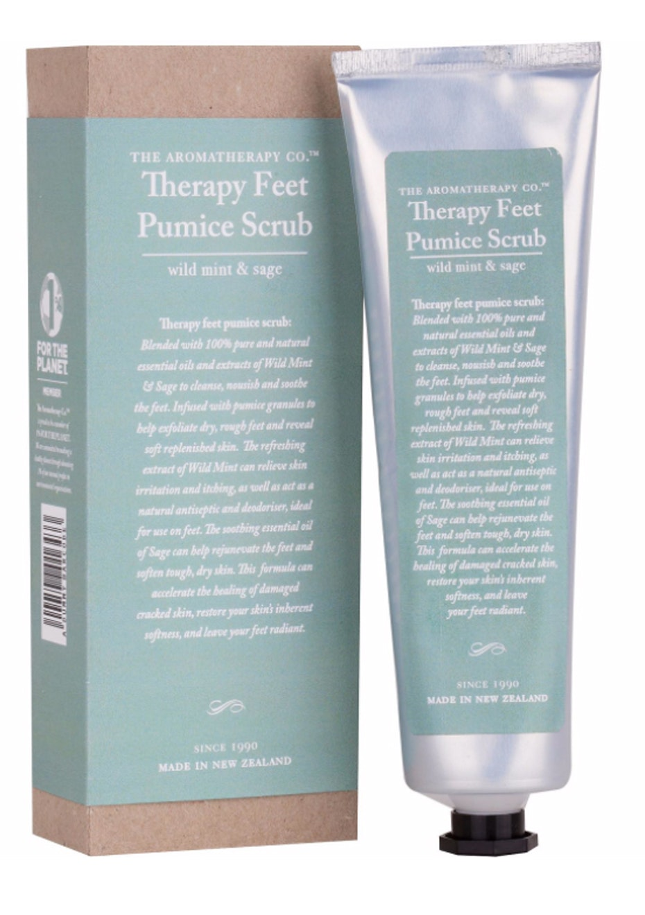 The Aromatherapy Co. Therapy Feet Pumice Scrub - Wild Mint & Sage - 130ml