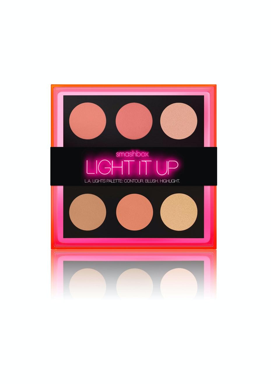 Smashbox - Light It Up L.A. Lights Palette Contour.Blush.Highlight. Set