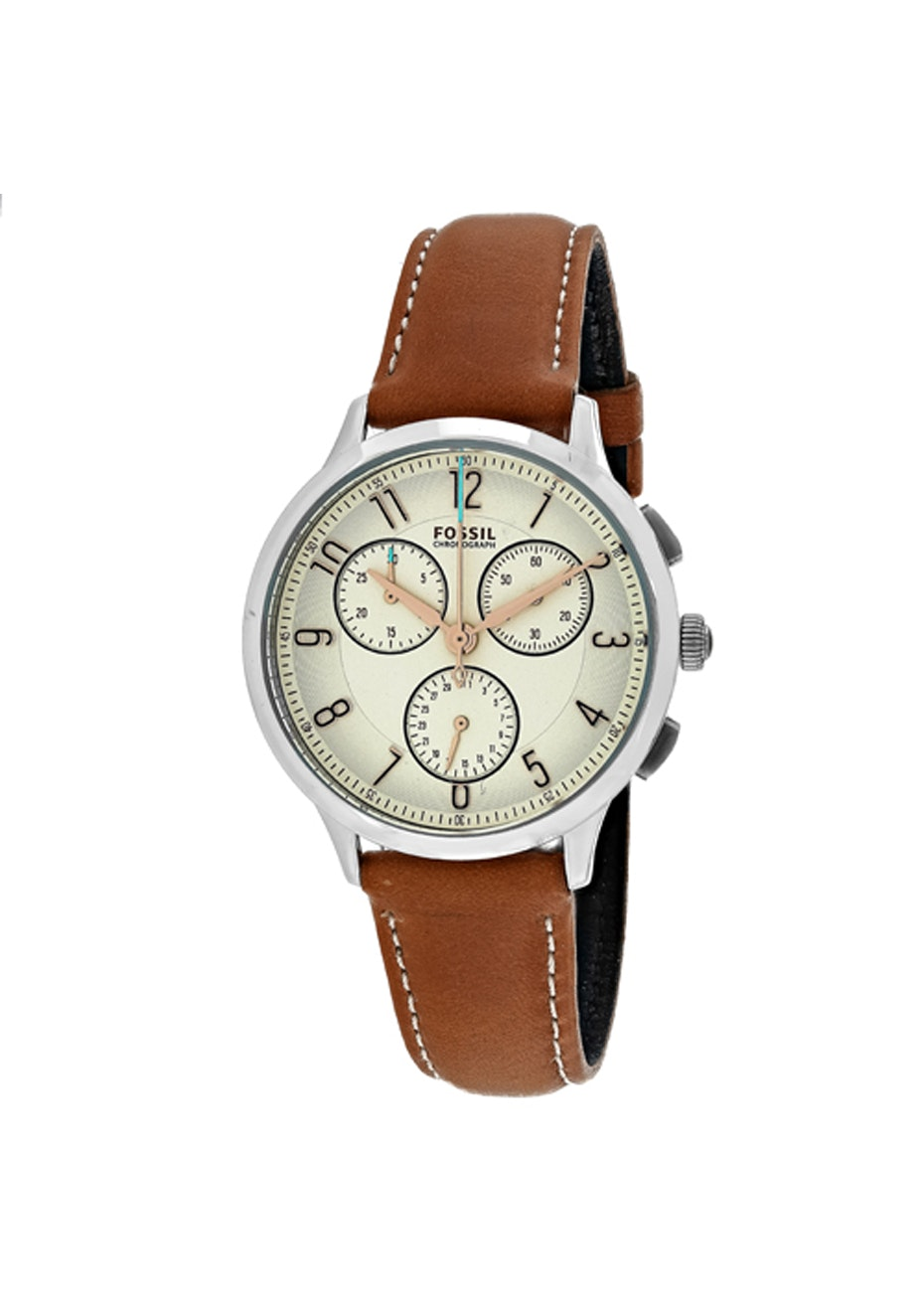 Fossil Women's Abilene - Silver/Brown