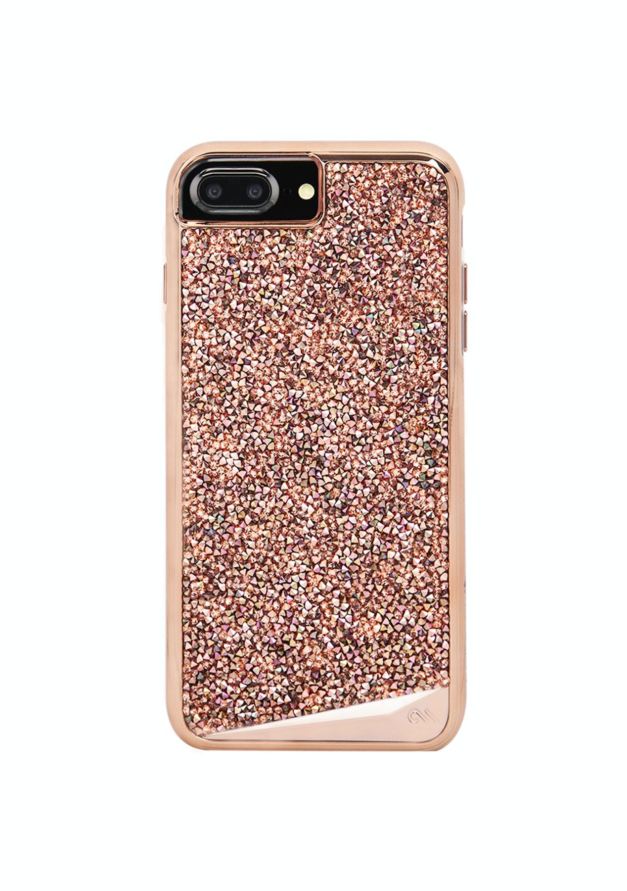 timeless design 08d13 48ddd Case-mate Apple iPhone 8 Plus / 7 Plus / 6S Plus - Brilliance Case - Rose  Gold
