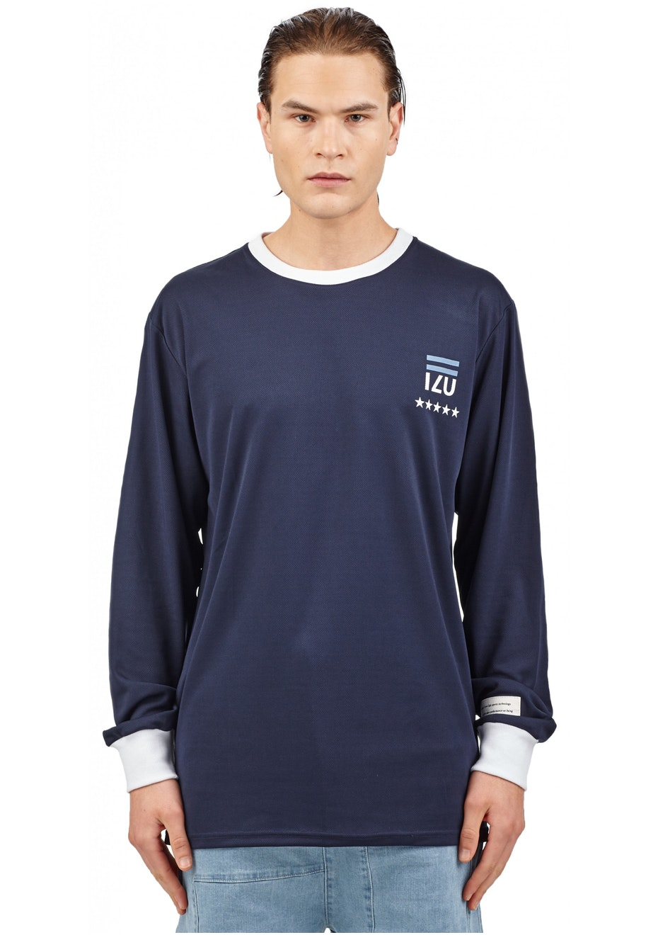 I Love Ugly - Zidane Ls Jersey - Navy