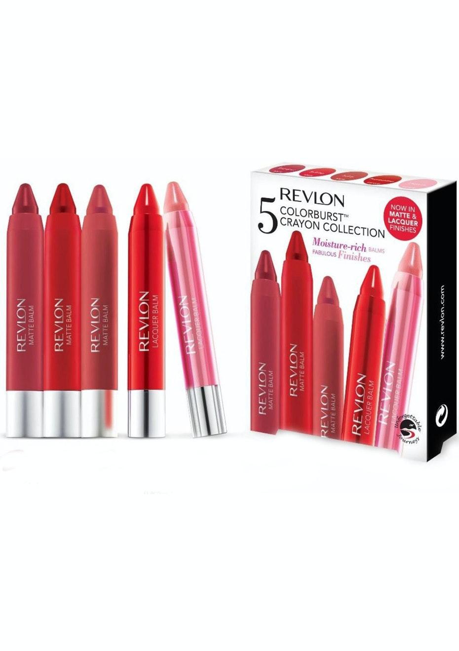 Revlon Colourburst 5pc Crayon Collection