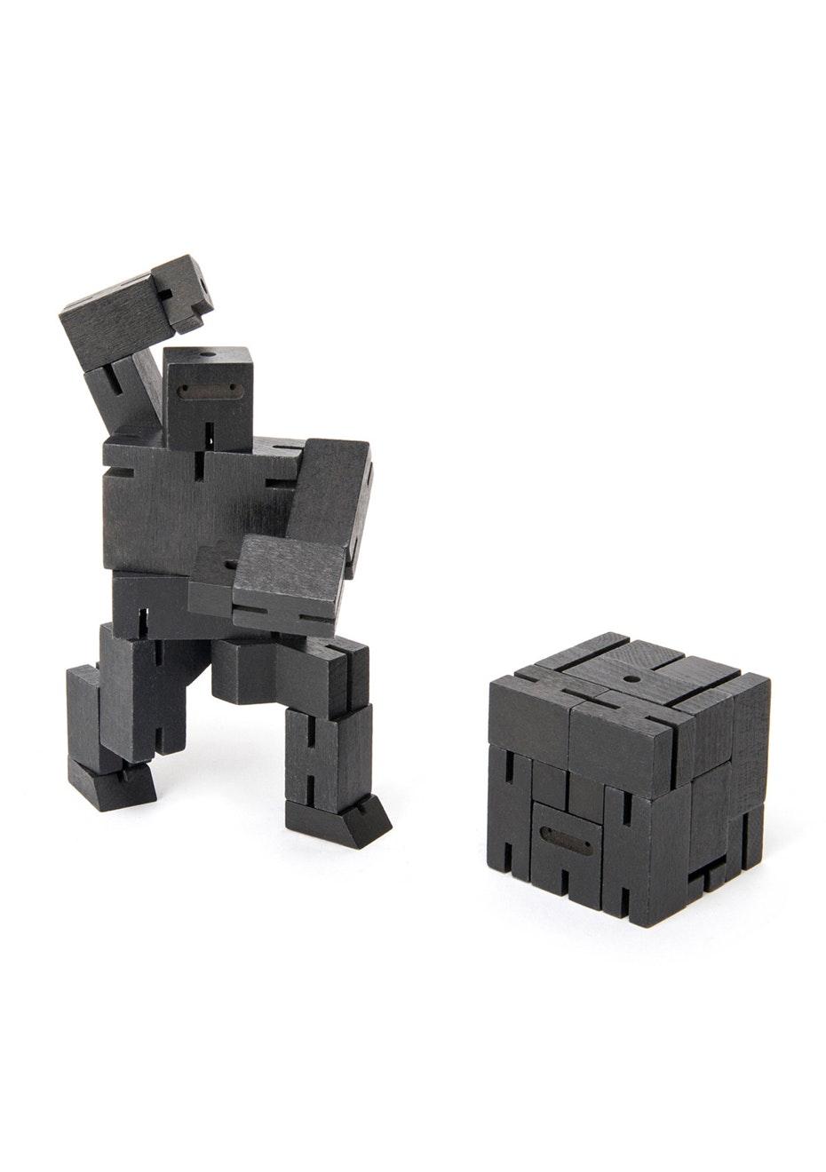 Areaware - Cubebot Small Ninja - Black