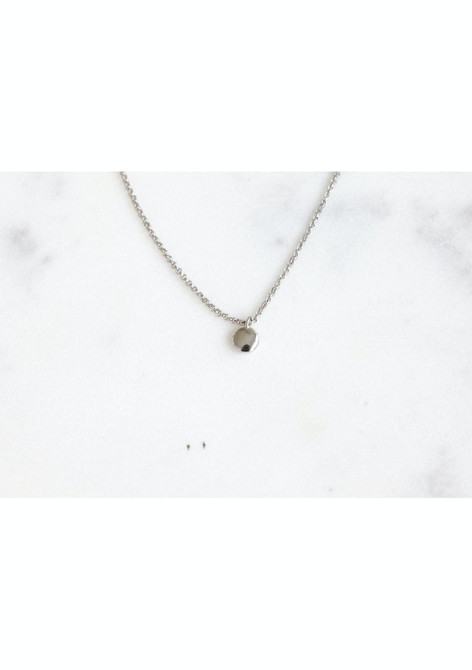 Circle Necklace  - 925 Silver