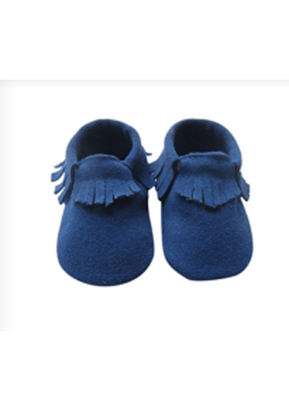 Baby  Leather Shoes - Blue