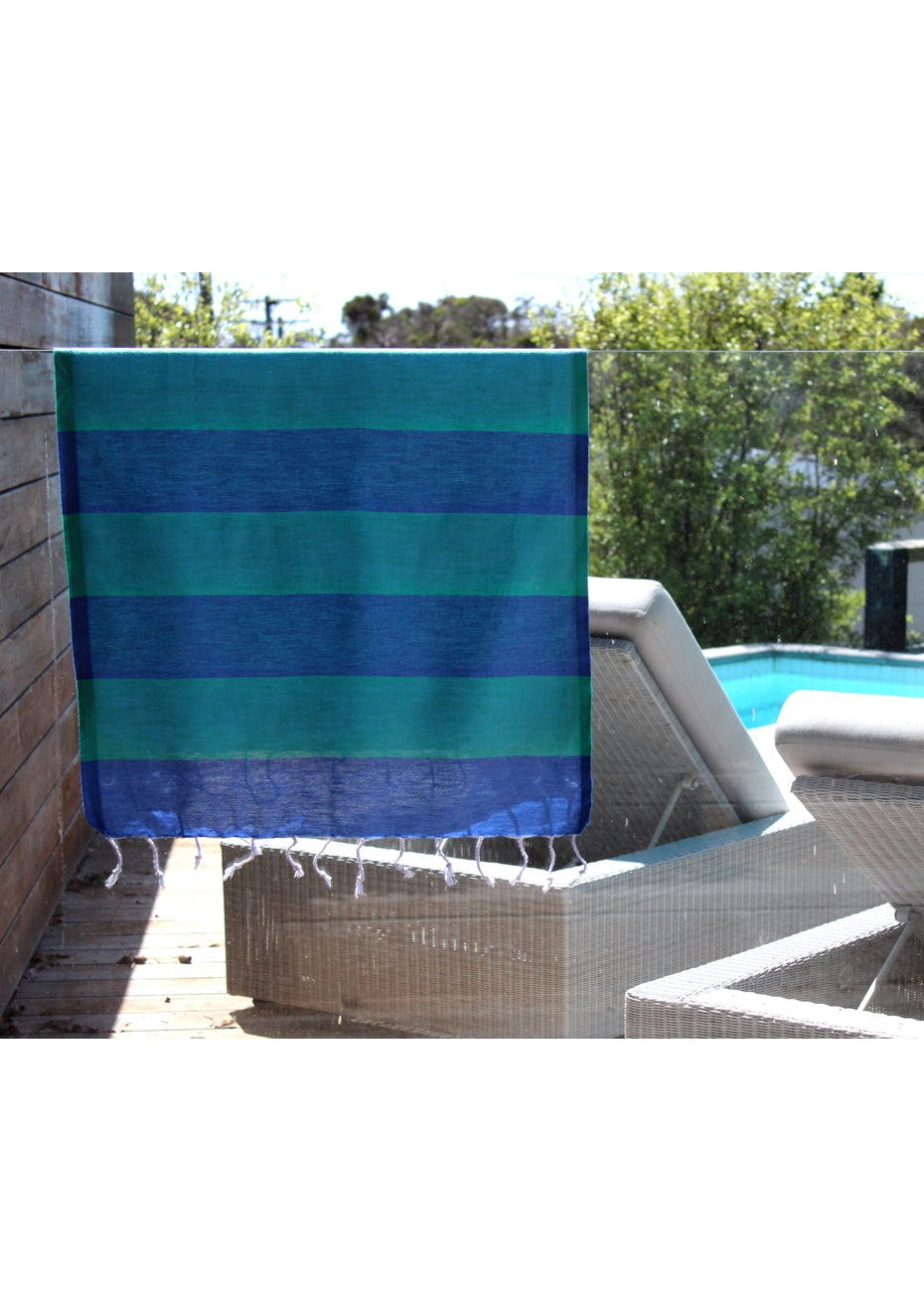 Tenedos Ocean Small Turkish Towel