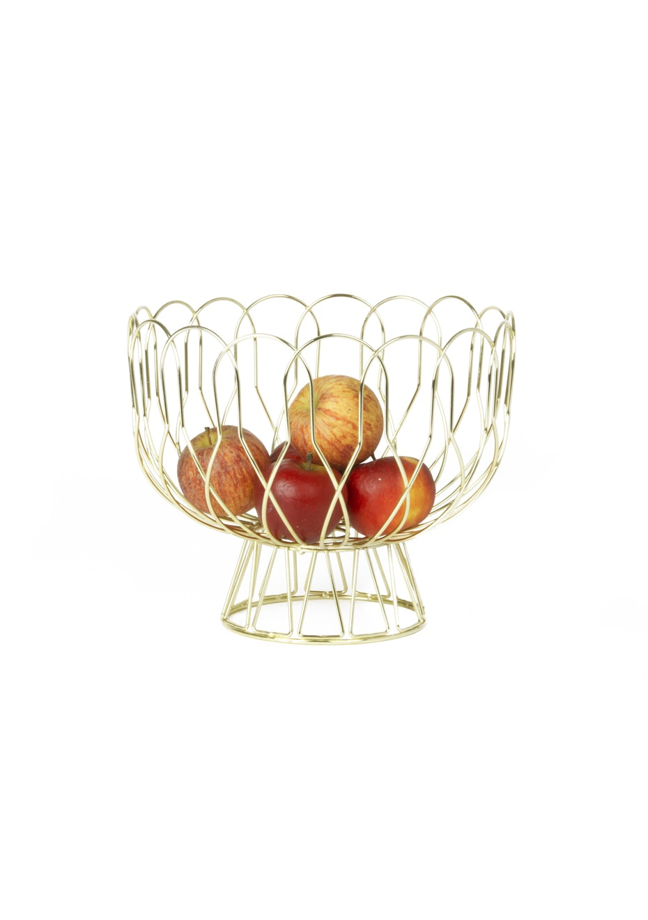 Pt Home - Fruit bowl Wired - Gold