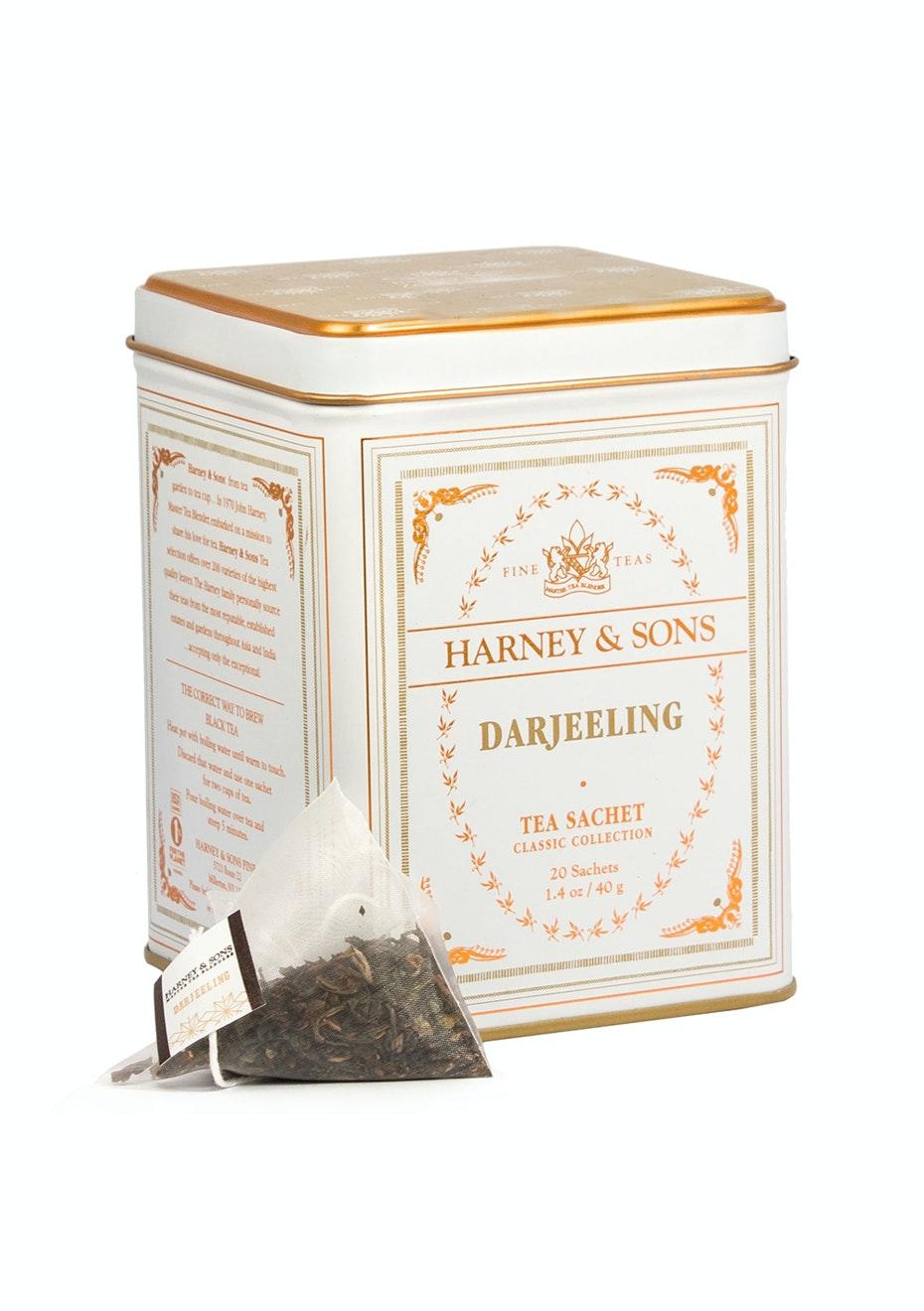 Harney & Sons - Darjeeling - 20 Sachet Tin