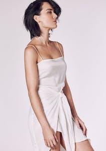 0e800ba8b2 Winona - Hamptons Short Dress - White
