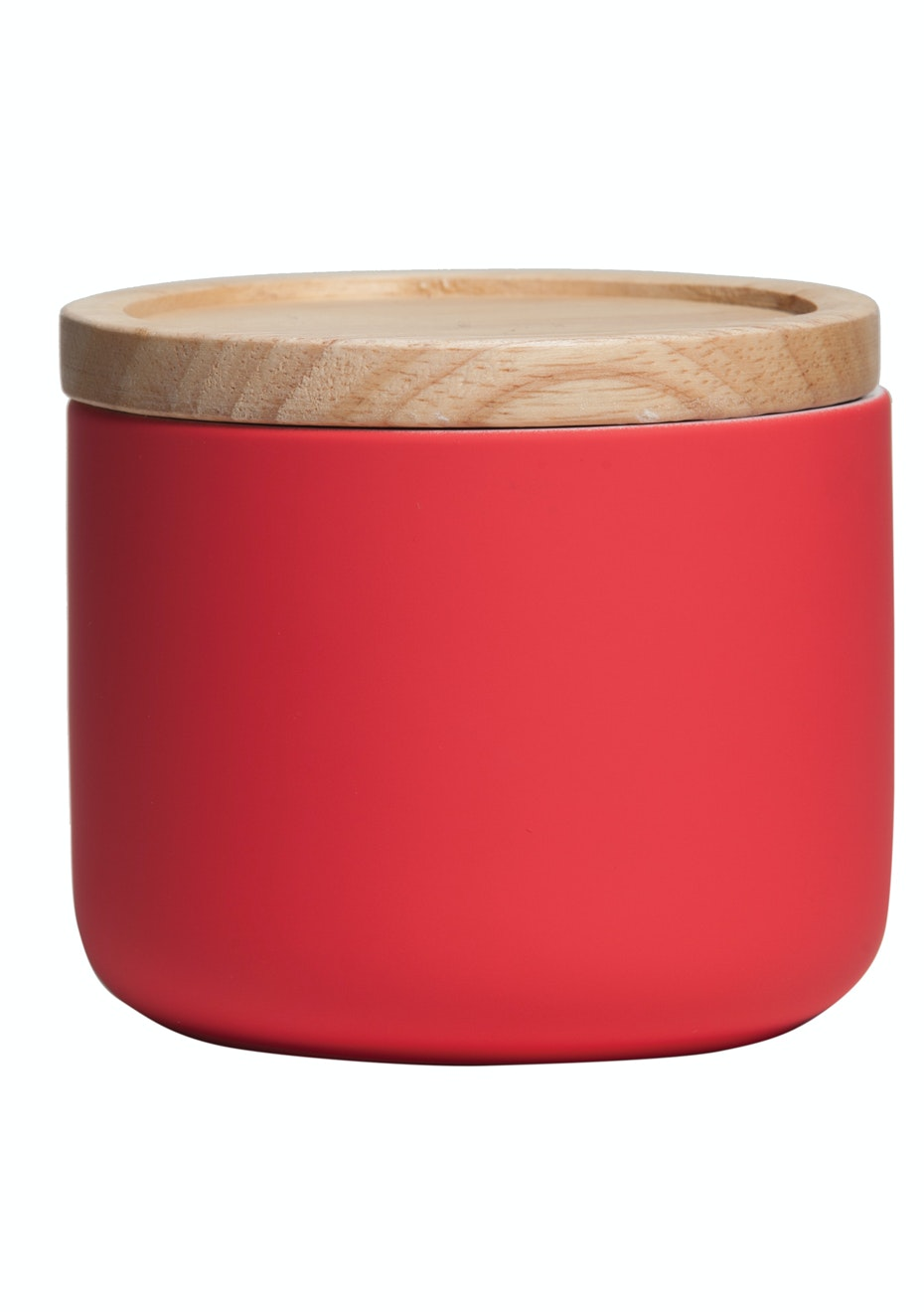General Eclectic - Sml Canister Matt Red