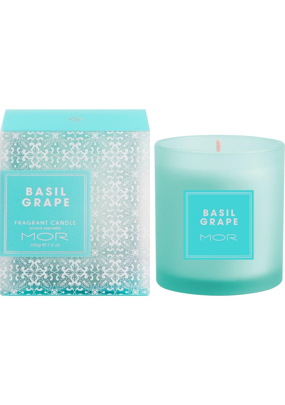 MOR - Fragrant Candle 200G Basil Grape