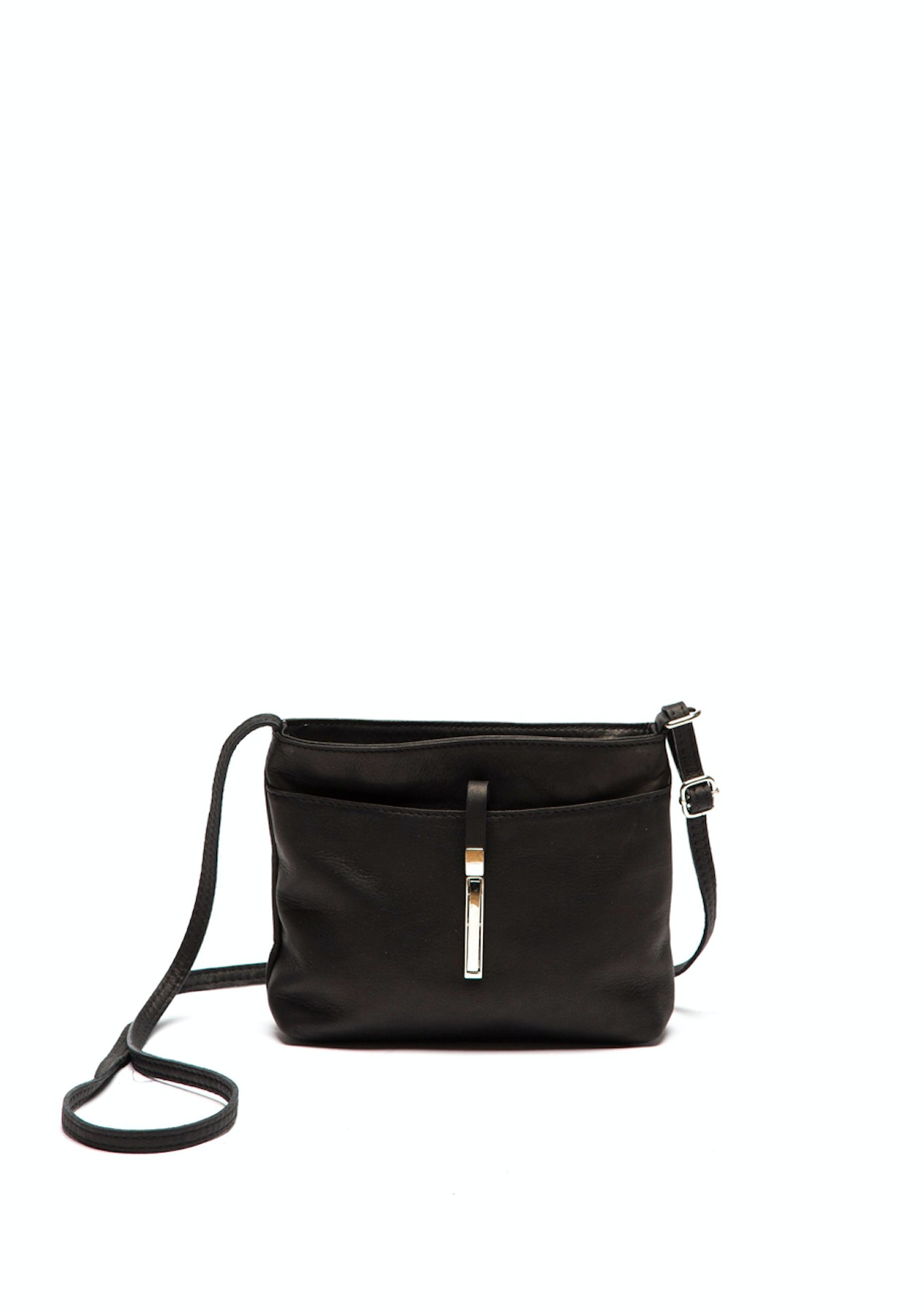 a52134d85449 Roberta M - Crossbody Bag - Nero - Italian Genuine Leather Bags up to 71%  Off - Onceit