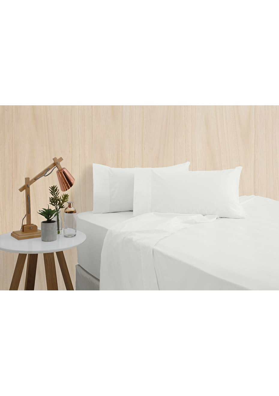 Bamboo Luxe 400 Thread Count - Mega King - White