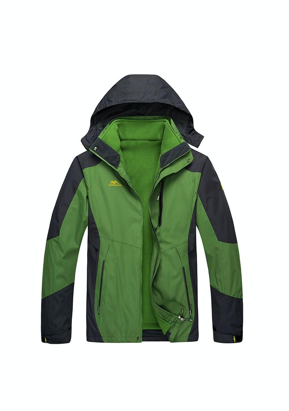 Men 2-in-1 WaterProof Jackets - Green