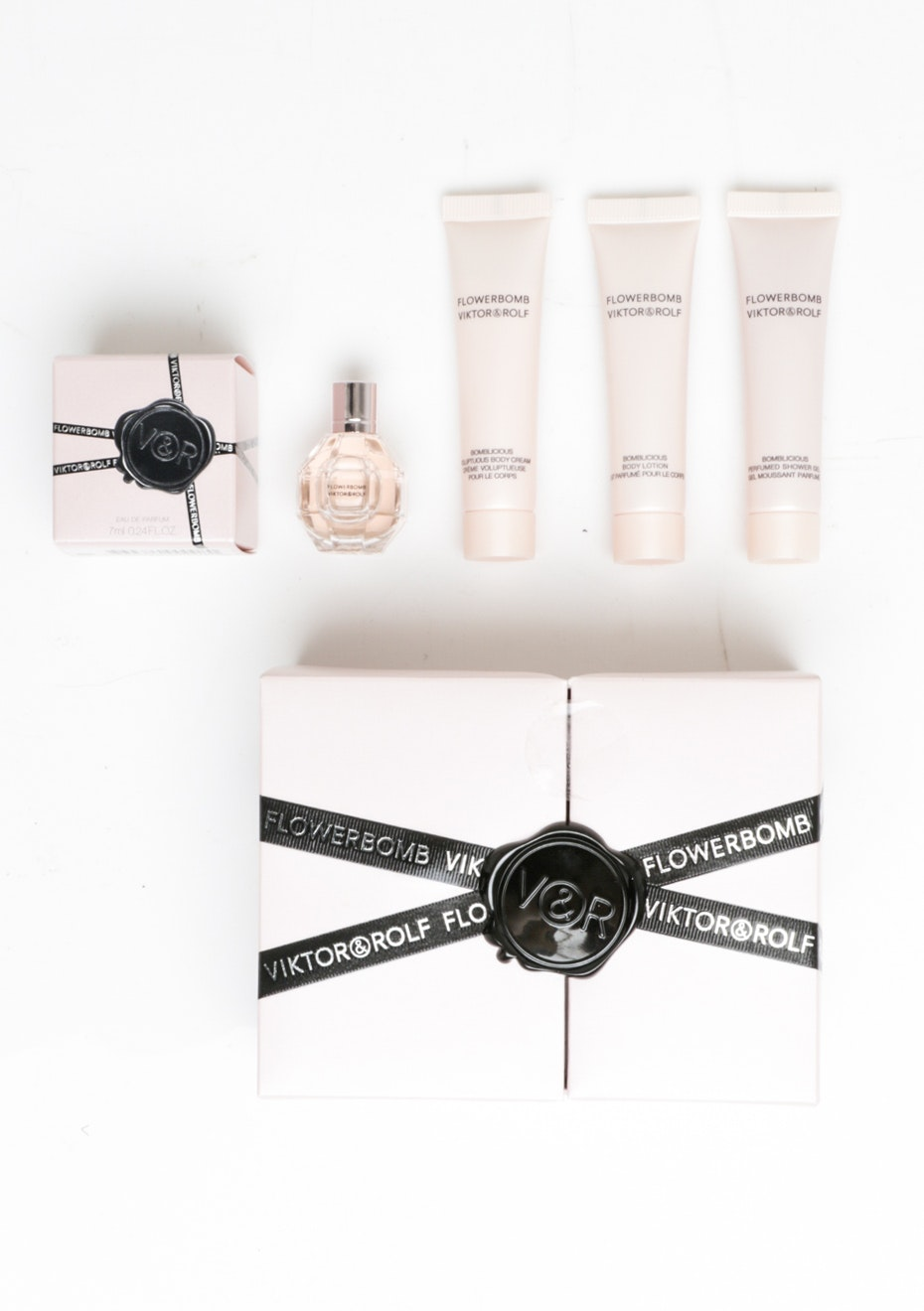 Viktor & Rolf Flower Bomb 4pc Mini Giftset Boxed