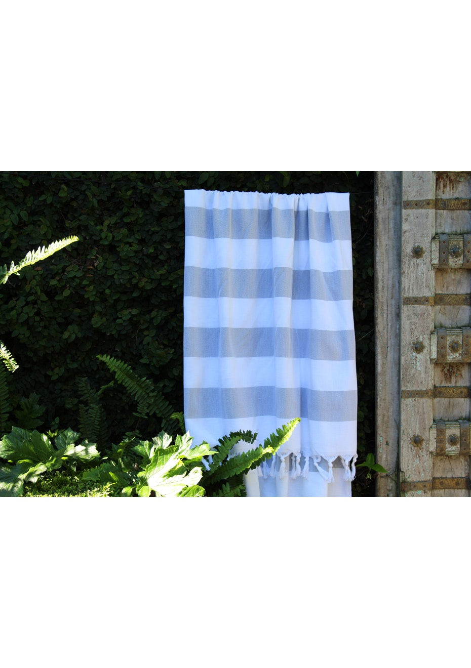 Cabana Silver Grey Turkish Towel