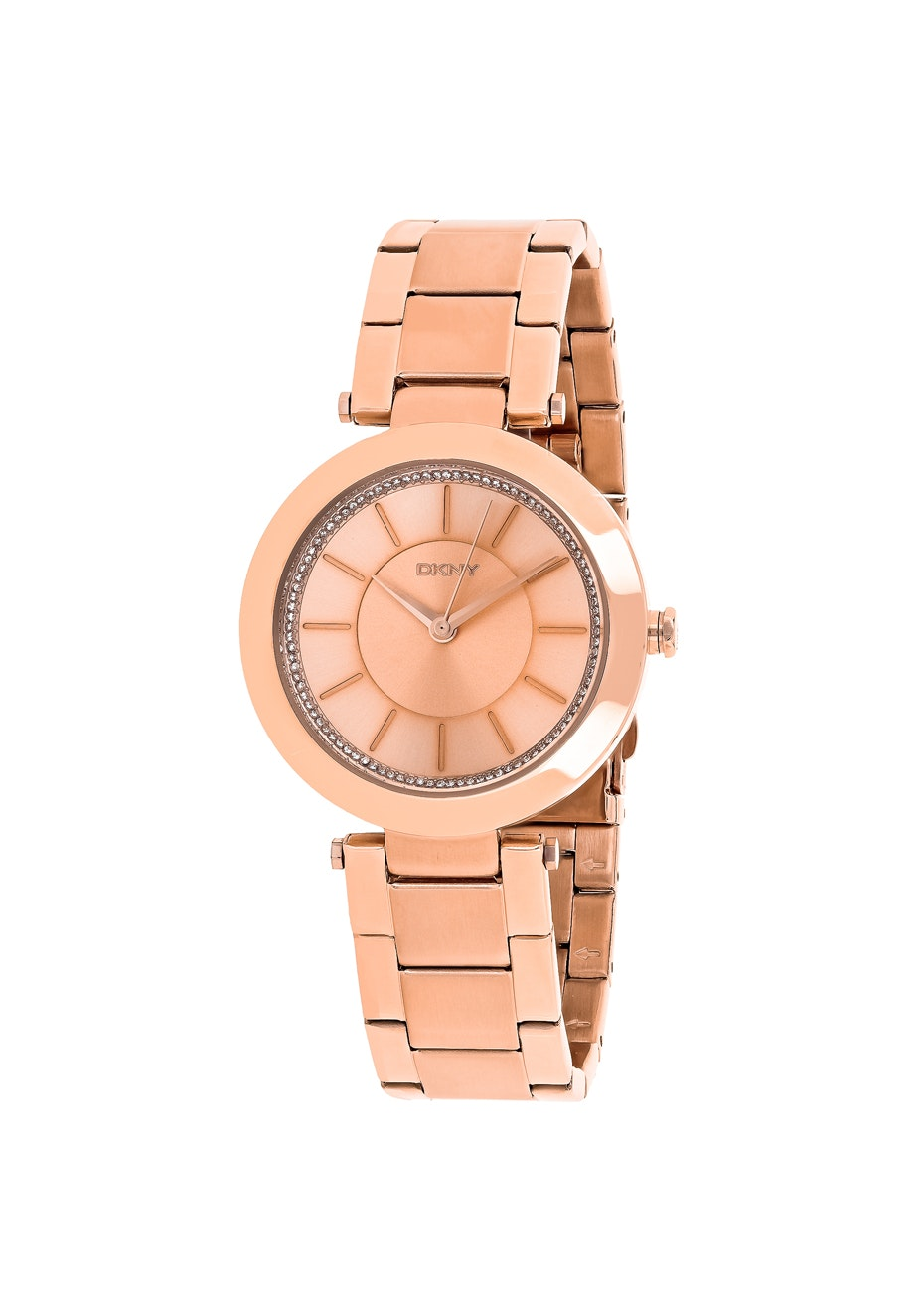 DKNY Women's Stanhope - Rose gold/Rose gold