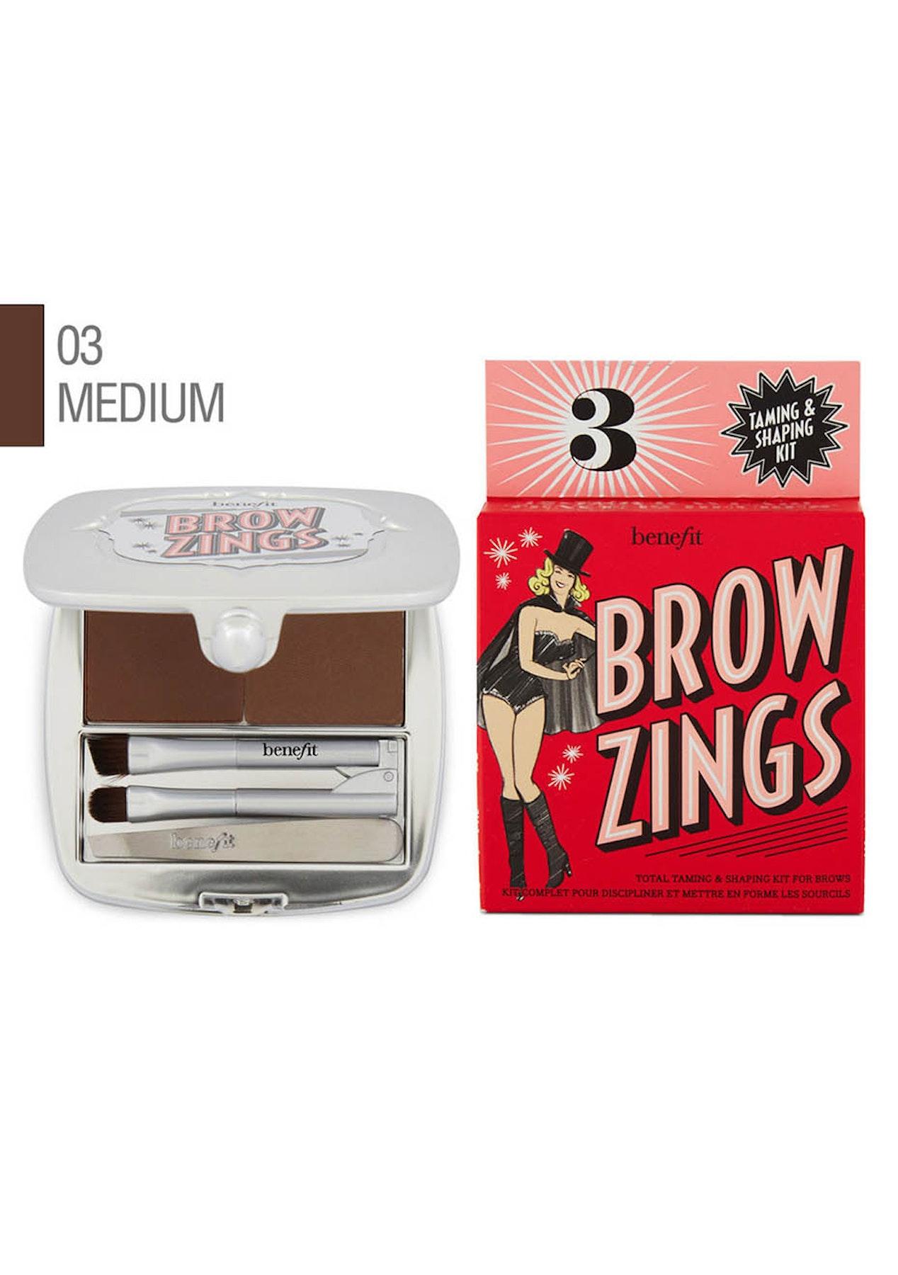Benefit Brow Zings 03 Medium Eyebrow Shaping Kit Free Shipping