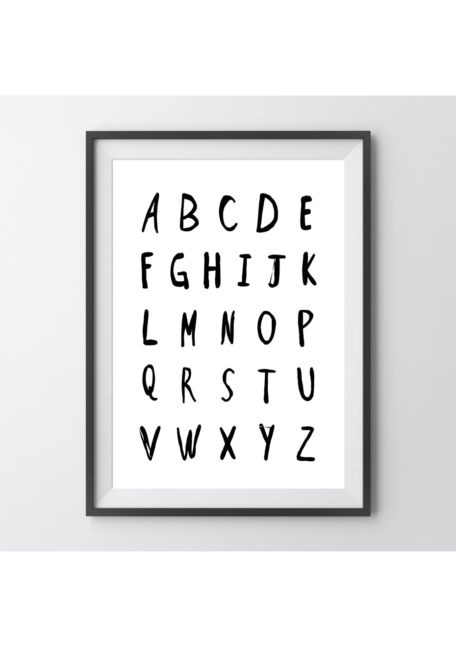 Simply Creative - Alphabet - A3 Colour Print