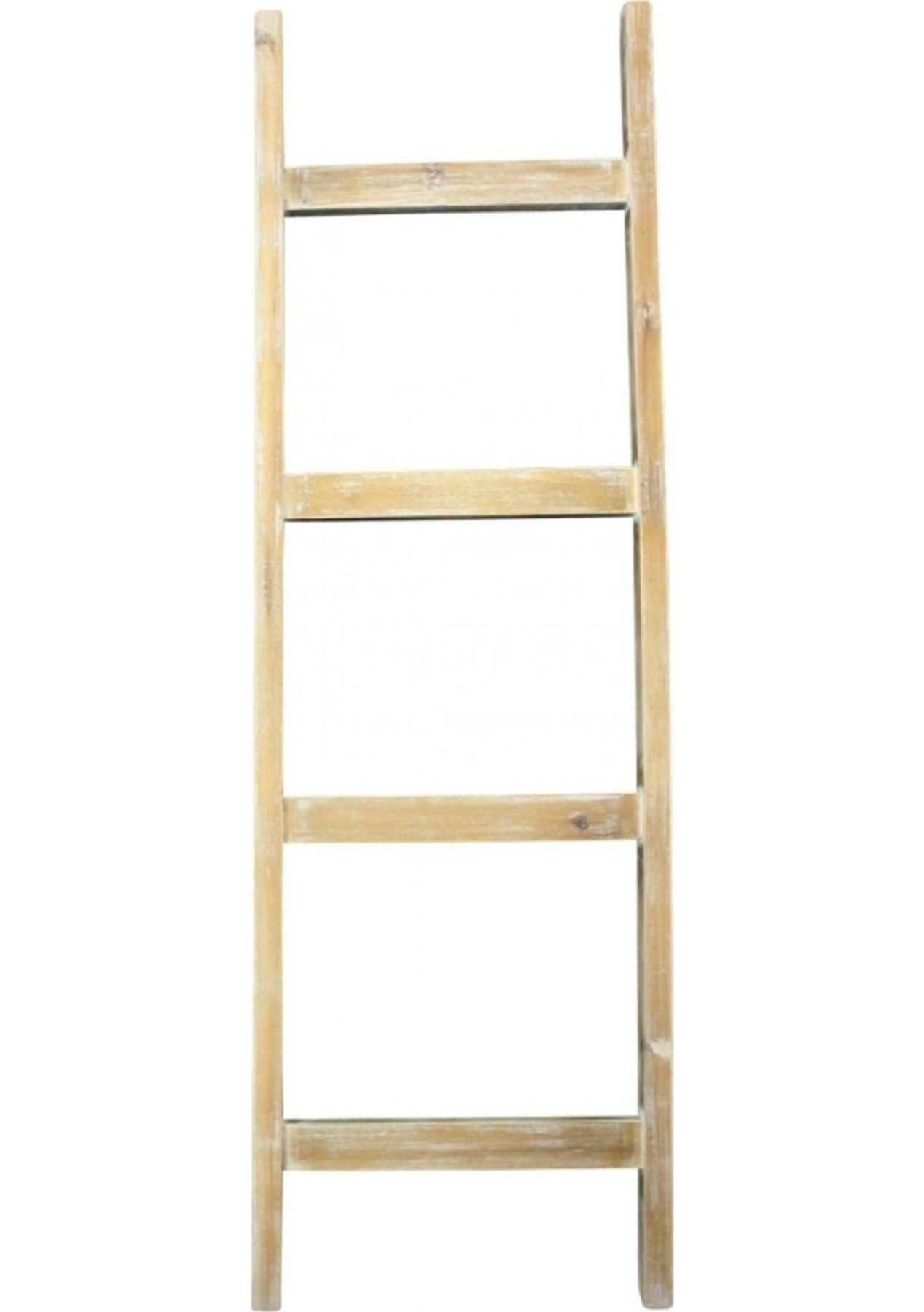 Bianco Natural Display Ladder 126Cm  Shelves, Bookcases, Storage &