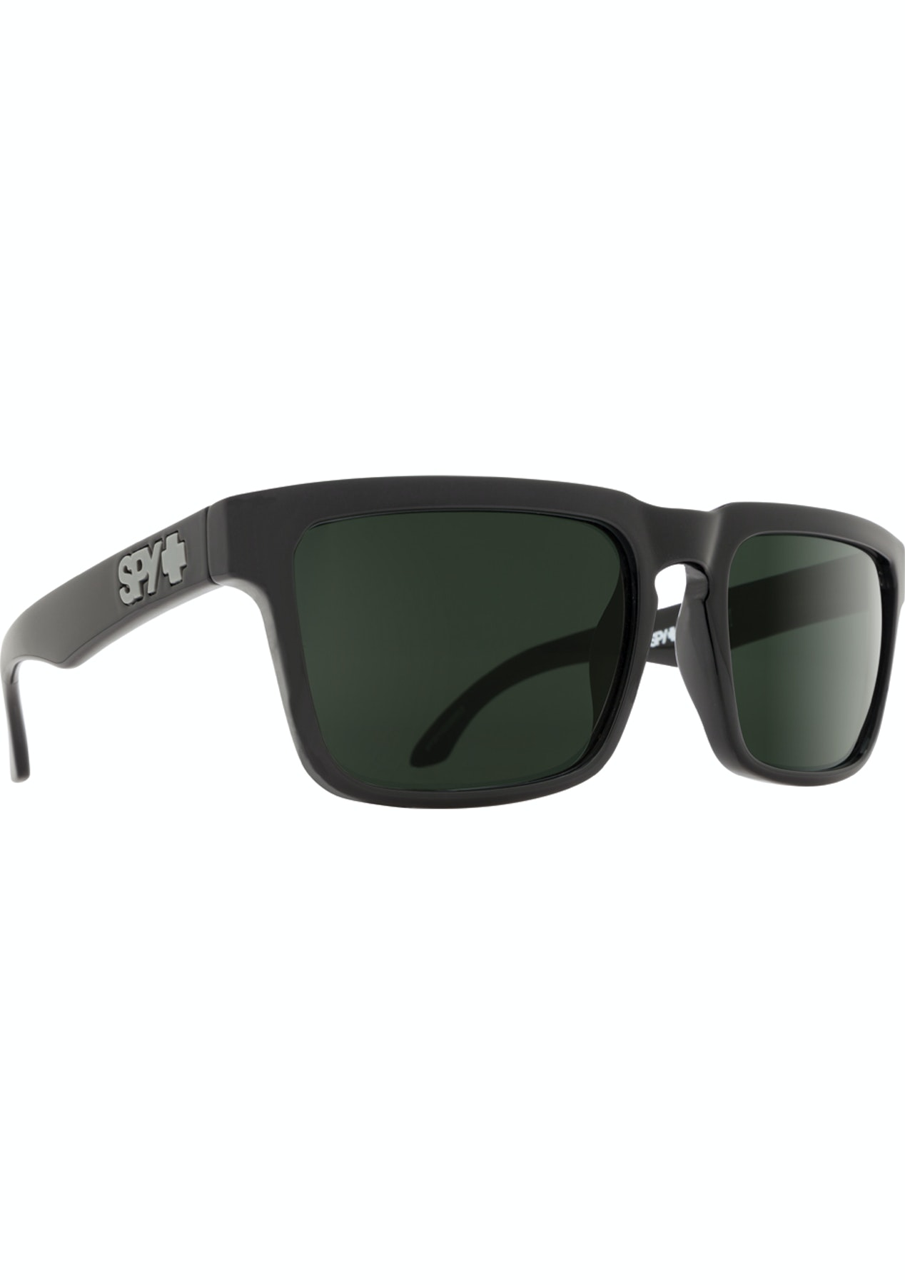 1e1bf95672b1 SPY Helm Sunglasses - Black - Happy Grey Green - Boxing Day Mens Clearance  - Onceit
