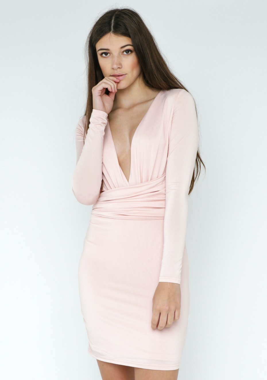 Lioness Another Day Dress - Blush