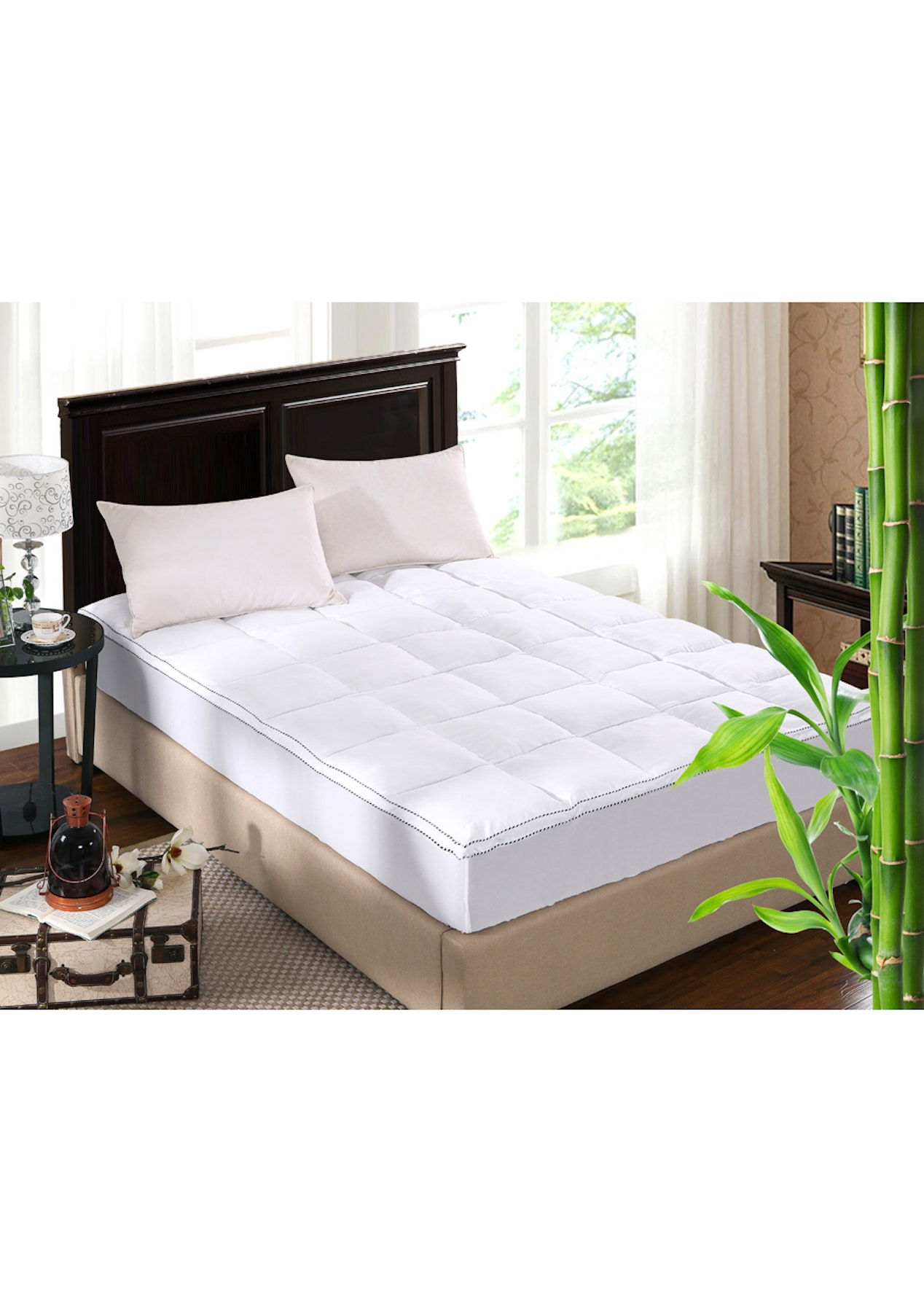 comforter shredded with firm comfort bamboo hotel memory original foam pillow gallery premium king