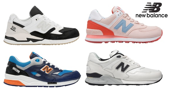Image of the 'New Balance' sale