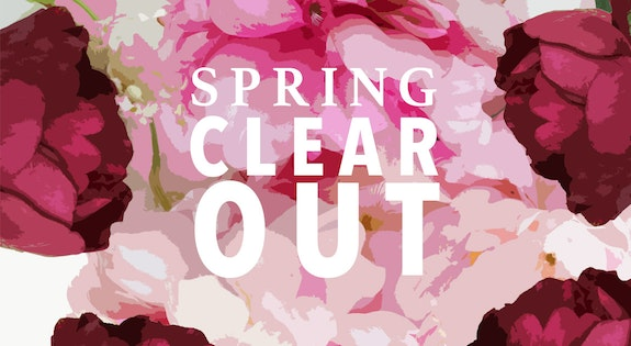 Image of the 'Spring Clear-Out' sale