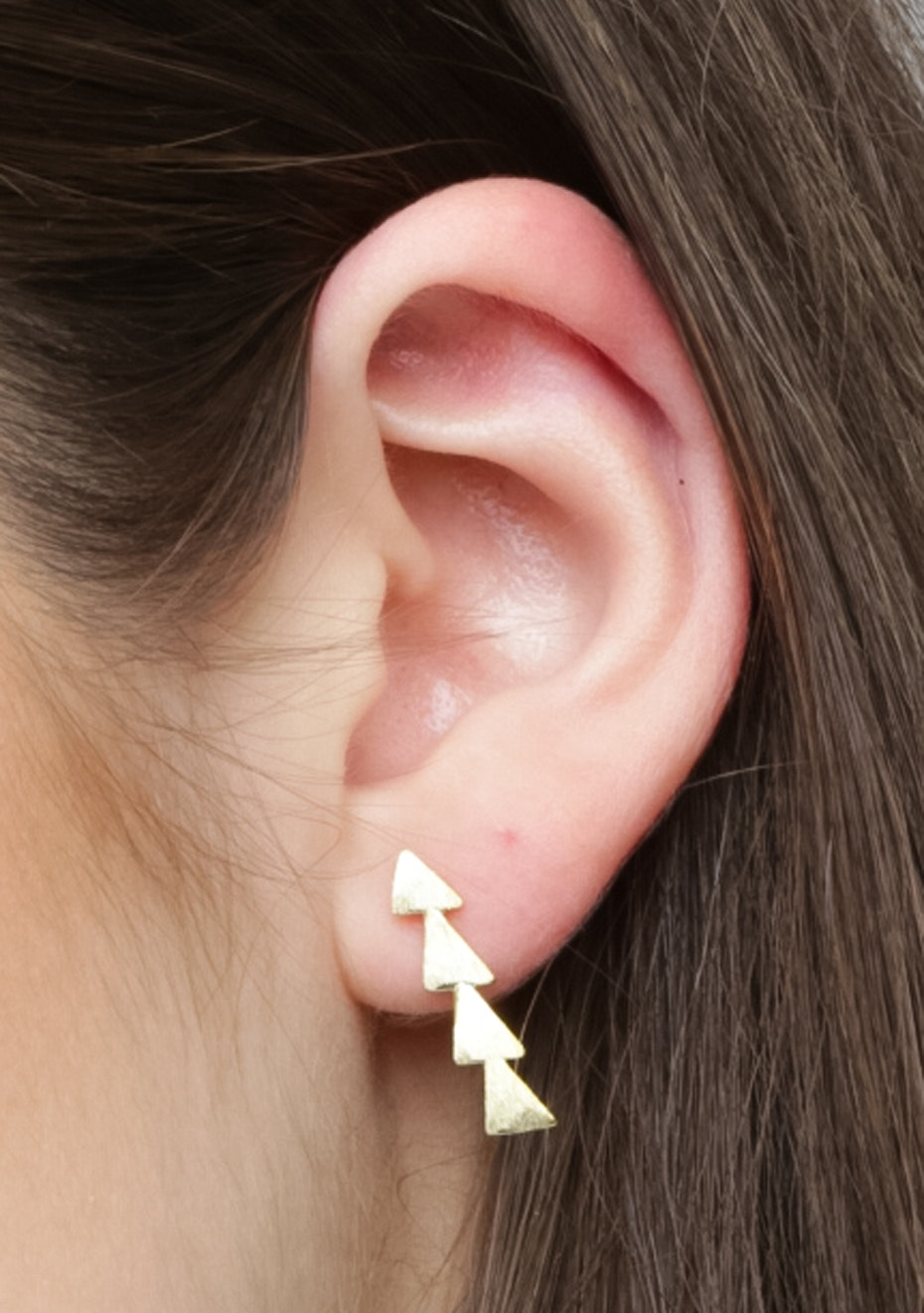 Triangle Ear Cuff - 925 Gold Plated