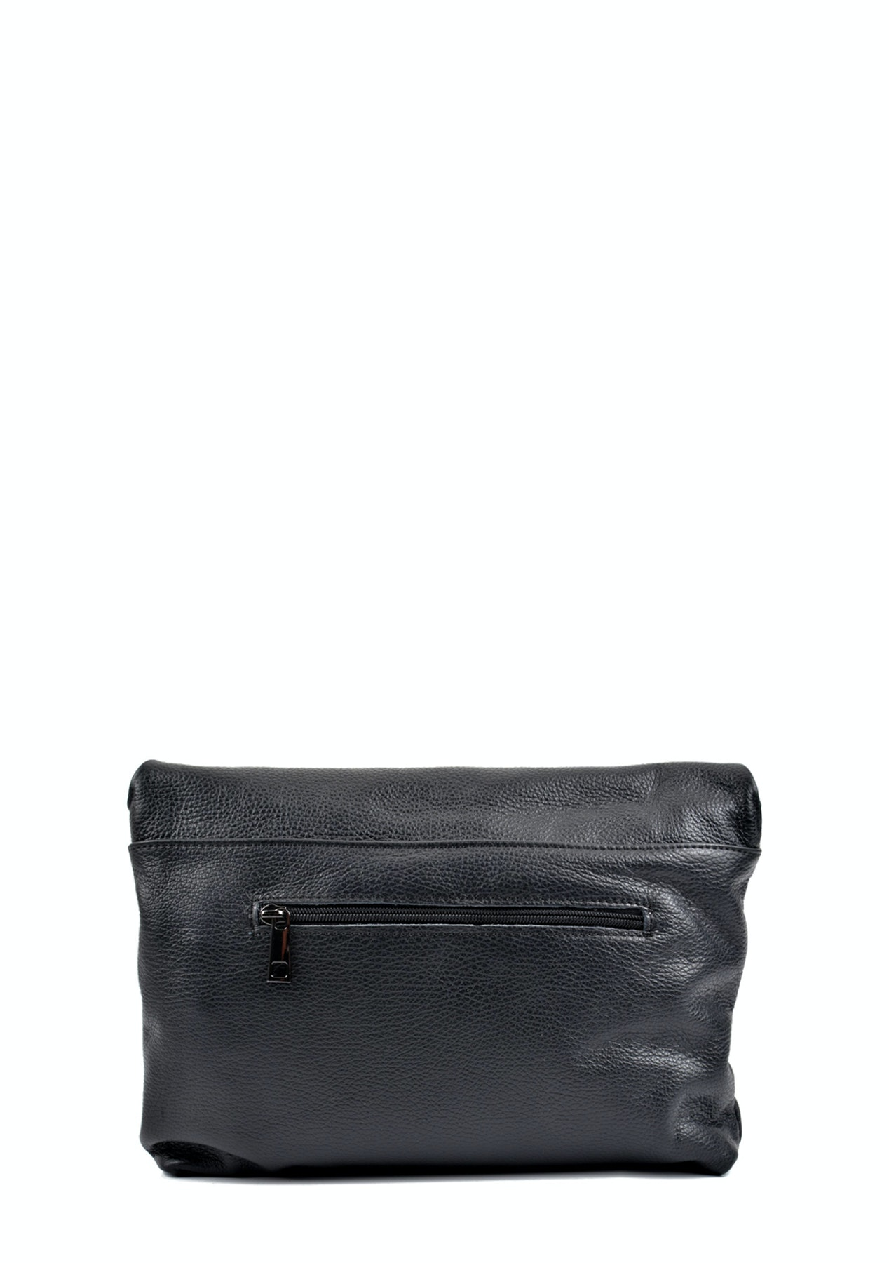 1590090ffe29 Roberta M - Crossbody Bag - Nero - Best Selling European Made Leather Bags  - Onceit