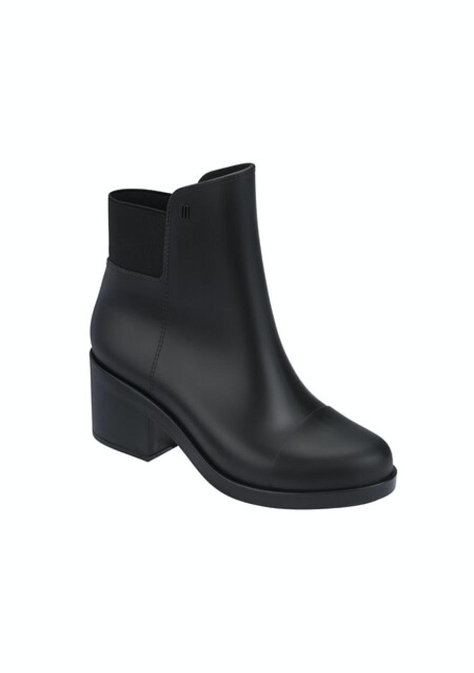 Melissa - Elastic Boot - Black