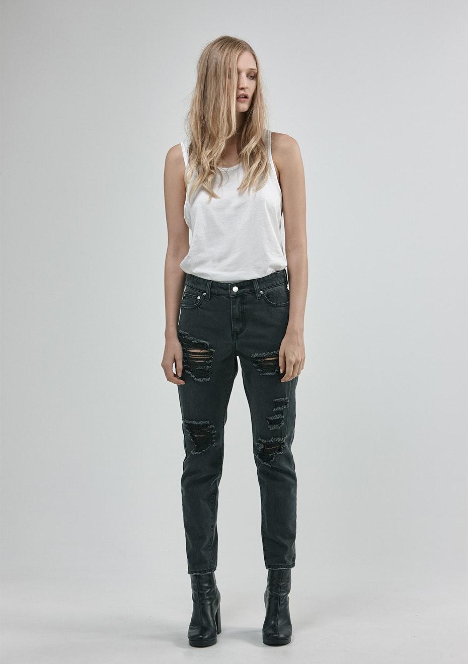 Stolen Girlfriends Club - Baby Strange Jeans - Vintage Black